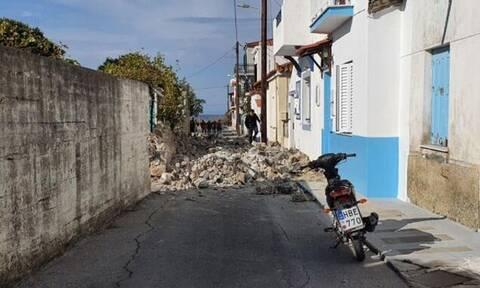 Σεισμός στη Σάμο: Τουλάχιστον 8 τραυματίες - Μεγάλες καταστροφές στο νησί