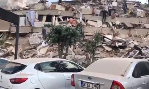 Σεισμός: Η στιγμή που ο «Εγκέλαδος» χτυπά την Τουρκία (videos)