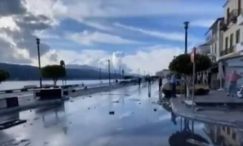 Σεισμός Σάμος: «Βομβαρδισμένο» τοπίο το νησί – Συγκλονιστική μαρτυρία (video)