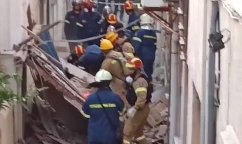 Σεισμός στη Σάμο: Βίντεο - σοκ από το σημείο της τραγωδίας με τα δύο παιδιά