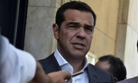 Τσίπρας: Σήμερα είναι μια δύσκολη μέρα πρωτίστως για τη Σάμο αλλά και για ολόκληρη την Ελλάδα