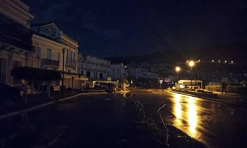 Σεισμός: Δύσκολη νύχτα στη Σάμο - Στους δρόμους οι κάτοικοι - Αγωνία για τους μετασεισμούς