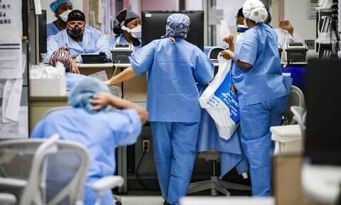 Κορονοϊός - ΗΠΑ: Νέο θλιβερό ρεκόρ κρουσμάτων σε 24 ώρες - Πάνω από 94.000 νέες μολύνσεις