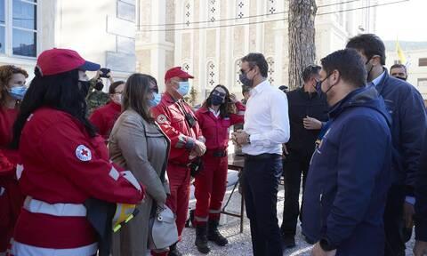 Σεισμός στη Σάμο - Μητσοτάκης: Γρήγορα οι αποζημιώσεις στους πληγέντες