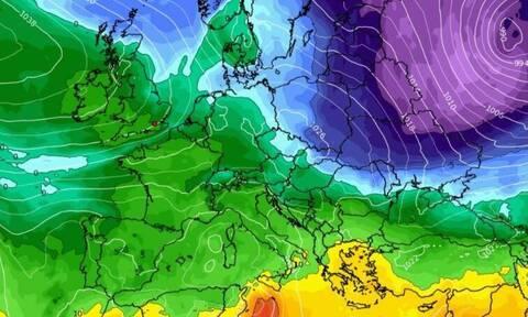 Καιρός: Πολικό κρύο στη βόρεια Ευρώπη. Τι θα συμβεί στην χώρα μας;