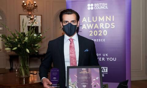 Το Κορυφαίο βραβείο «Lifetime Achievement Award» απονεμήθηκε στον Δρ. Βασίλη Γ. Αποστολόπουλο