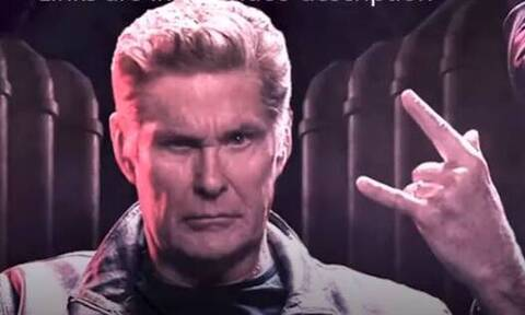 Χάσελχοφ: Ο θρύλος του Baywatch έβγαλε metal τραγούδι!