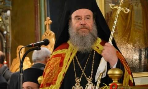 Κορονοϊός: «Δεν κόλλησα στον Άγιο Δημήτριο», λέει ο Μητροπολίτης που βρέθηκε θετικός