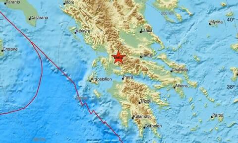 Σεισμός κοντά στο Καρπενήσι - Αισθητός σε πολλές περιοχές