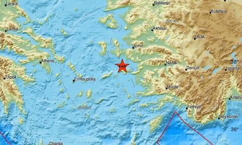 Σεισμός στη Σάμο: Νέος αισθητός μετασεισμός κοντά στο νησί (pics)