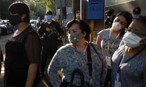 Κορονοϊός στο Μεξικό: 4.430 κρούσματα και 142 θάνατοι σε 24 ώρες