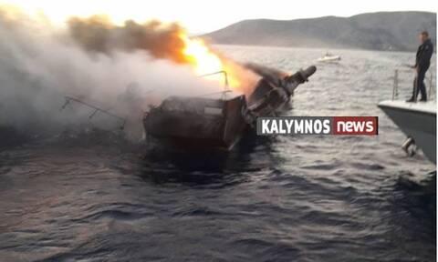 Βυθίστηκε μετά από πυρκαγιά το πλοίο «Κάλυμνος Σταρ» - Διασώθηκαν τρία άτομα