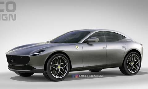 Ferrari Purosangue: Τα πρώτα δεδομένα για το σούπερ SUV που θα παρουσιαστεί το αργότερο το 2022