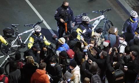 Αμερικανικές Εκλογές 2020: Επεισόδια έξω από τον Λευκό Οίκο - Μία σύλληψη από την αστυνομία