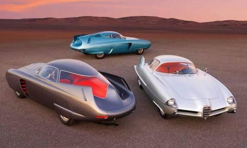 Πόσο πουλήθηκαν αυτά τα καταπληκτικά διαστημικά πρωτότυπα της Alfa Romeo;