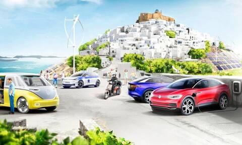 Επένδυση του ομίλου Volkswagen στην Αστυπάλαια για την ηλεκτροκίνηση