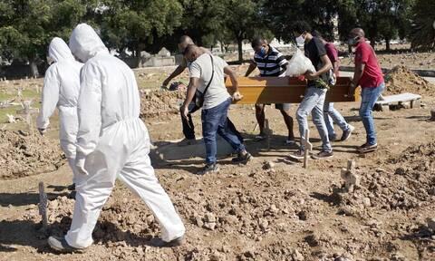 Κορονοϊός στη Βραζιλία: 610 θάνατοι εξαιτίας και σχεδόν 24.000 κρούσματα σε 24 ώρες