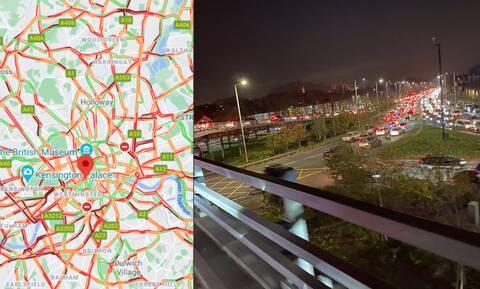 Κορονοϊός: Απόλυτο χάος στους δρόμους του Λονδίνου, λίγες ώρες πριν το lockdown