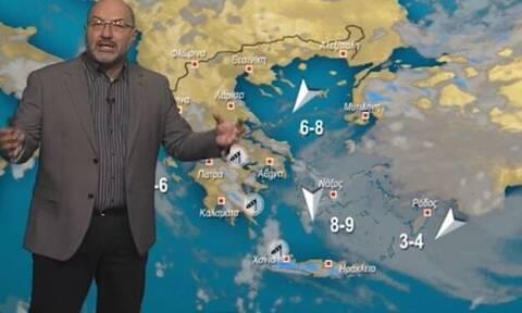 Προειδοποίηση Αρναούτογλου: Εμμονή με βροχές για 10 ημέρες. Ποιες περιοχές αφορά