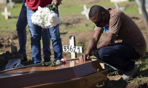 Κορονοϊός στη Βραζιλία: Πάνω από 5,6 εκατ. τα κρούσματα - Σχεδόν 162.000 οι νεκροί
