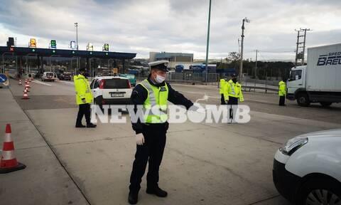 Lockdown - Ρεπορτάζ Newsbomb.gr: «Μπλόκο» στα διόδια - Όσοι… έφυγαν, έφυγαν! (pics+vid)