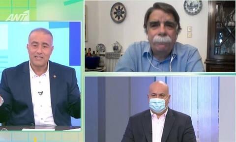 Κορονοϊός - Βατόπουλος: Όταν φοράμε μάσκα, η μυτούλα…μέσα - Θα μπορούσαμε να αποφύγουμε τα χειρότερα