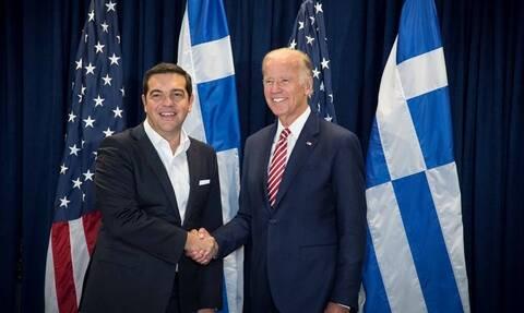 Τζο Μπάιντεν: Συγχαρητήρια Τσίπρα στον νέο πρόεδρο των ΗΠΑ