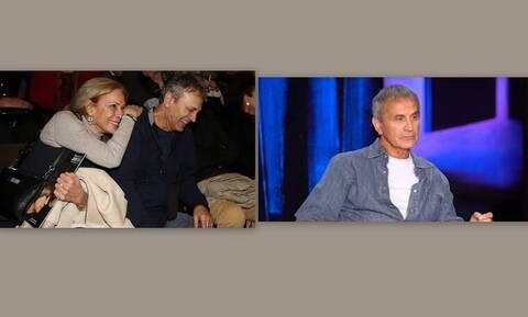 Νταλάρας: Παραδέχτηκε δημόσια για τη γυναίκα του: «Της άξιζε κάτι καλύτερο της Άννας»