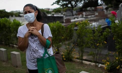 Κορονοϊός - Βραζιλία: 22.380 κρούσματα και 254 θάνατοι σε 24 ώρες