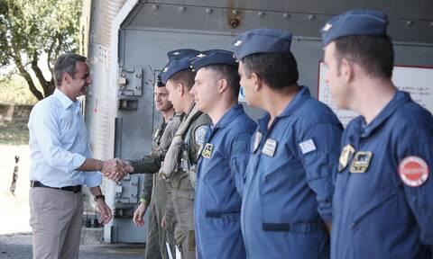 Κυριάκος Μητσοτάκης: «Περήφανοι για την Πολεμική μας Αεροπορία»
