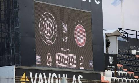 ΟΦΗ – Ολυμπιακός 0-2: Δείτε τα Highlights του αγώνα (vid)