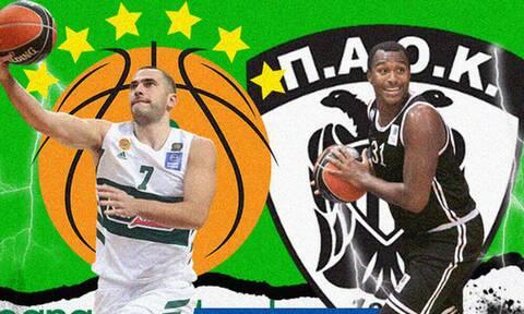 Basket League LIVE: Παναθηναϊκός ΟΠΑΠ - ΠΑΟΚ