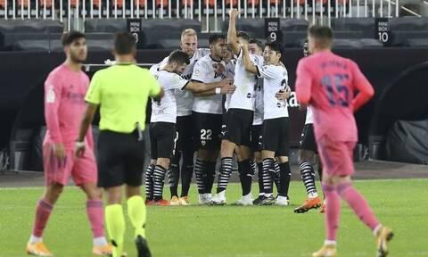 «Σφαλιάρα» στη Ρεάλ Μαδρίτης, νίκη 4-1 για τη Βαλένθια
