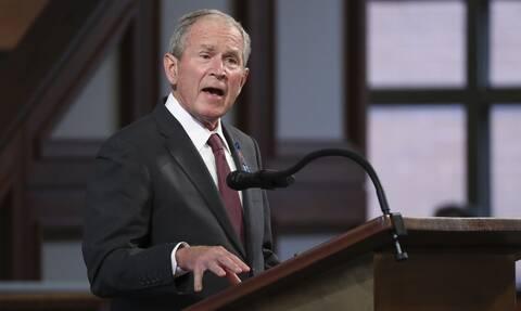Εκλογές ΗΠΑ 2020: Ο Τζορτζ Μπους συνεχάρη τον Τζο Μπάιντεν για τη νίκη του