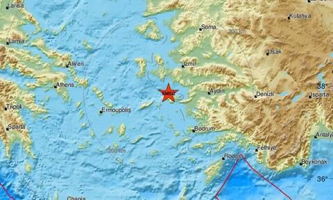 Σεισμός στη Σάμο: Νέος αισθητός μετασεισμός στο νησί