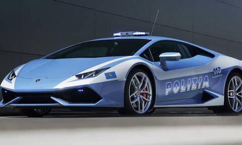 Lamborghini Huracan της ιταλικής αστυνομίας έκανε 500 χλμ. σε 2 ώρες για τη μεταφορά μοσχεύματος