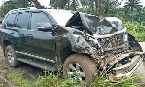 Σοκαριστικό τροχαίο για διάσημο ποδοσφαιριστή - Διαλύθηκε το αμάξι (pics)