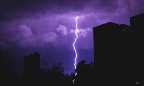 Κακοκαιρία: Προειδοποίηση της Πολιτικής Προστασίας για ισχυρές καταιγίδες στην Κρήτη