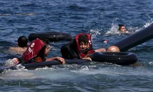 Возле греческого Самоса потерпела крушение лодка с мигрантами, погиб ребенок