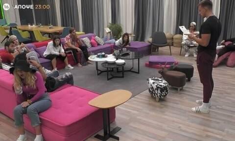 Big Brother - Spoiler: Η ποινή στην Άννα Μαρία και το «καυτό» φιλί της Σοφίας στον Κεχαγιά (vids)
