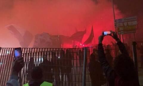 Στη Σικελία δεν… νιώθουν από κορονοϊό – Απίστευτες εικόνες οπαδών έξω από γήπεδο
