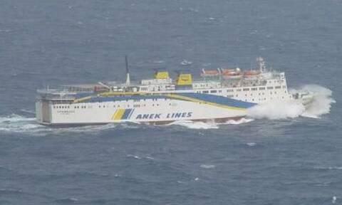 Αποκολλήθηκε το οχηματαγωγό πλοίο «Πρέβελης»: Είχε προσαράξει έξω από το λιμάνι της Καρπάθου