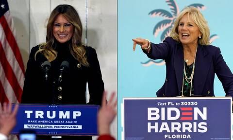 Εκλογές ΗΠΑ: Η Μελάνια Τραμπ αρνείται να αναγνωρίσει τη νέα πρώτη κυρία