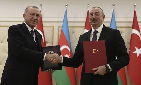 Αλίεφ: Στο Ναγκόρνο-Καραμπάχ θα αναπτυχθούν στρατεύματα της Τουρκίας