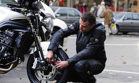 Πώς δεν θα σου κλέψουν ποτέ τη μοτοσυκλέτα