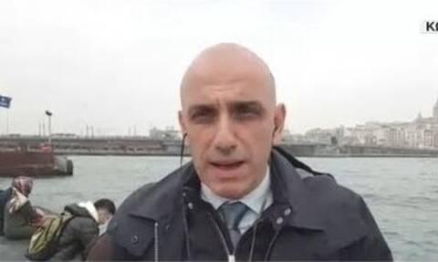 Χαμός στον ΣΚΑΪ: Σειρήνες «πολέμου» στην Τουρκία - Φοβισμένος ο Μανώλης Κωστίδης