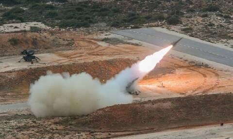 Κρητική «ασπίδα»: Πανίσχυρη δύναμη πυρός - Βολές αντιαεροπορικών συστημάτων στο Πεδίο Βολής