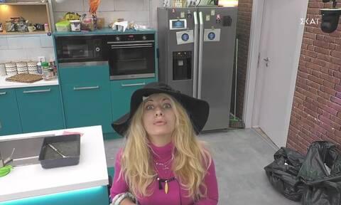 Big Brother: Η Άννα Μαρία εναντίον του «Μεγάλου Αδερφού» - «Εγώ την κοτούλα δεν την κάνω» (vid)