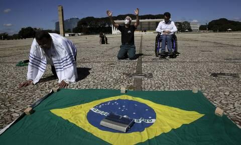 Κορονοϊός στη Βραζιλία: Πάνω από 5,7 εκατ. τα κρούσματα - 201 θάνατοι σε 24 ώρες
