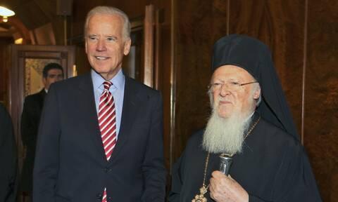 Εκλογές ΗΠΑ: Συγχαρητήρια από τον Πατριάρχη Βαρθολομαίο στον Τζο Μπάιντεν